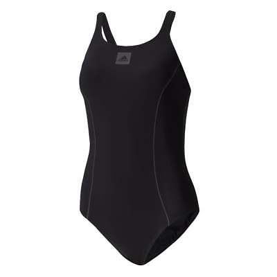 adidas Womens Solid Support Swimsuit