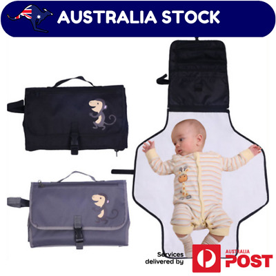 Baby Change Mat Clutch/Wallet Style Foldable Waterproof