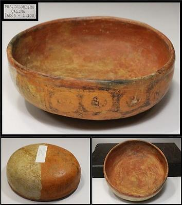 PERHAPS POTTERY BOWL Pre Colombino CALIMA AD65-1000 HASHI WAN ANTIQUE