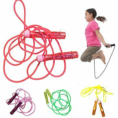 Heavy Duty Nylon Rope PRO Weighted Skipping foam Jump rope Gym Fitness BOXING R7