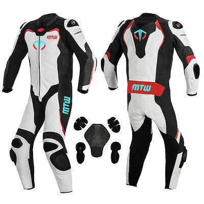 MTW Motorbike Motorcycle Leather Suit Monster Alpine Motorbike Leather Suit