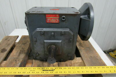 Browning 450Q180L20 Right Angle Worm Gear Box Speed Reducer 20:1 Ratio