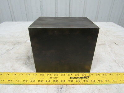 "Cast Iron 8"" x 6-7/8""x6"" Boxed Parallel Angle Irons Machinist Setup"