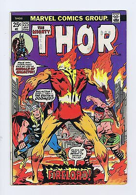 The Mighty Thor Vol 1 - #225 // FN+ // Key Issue // First Firelord App / July 74