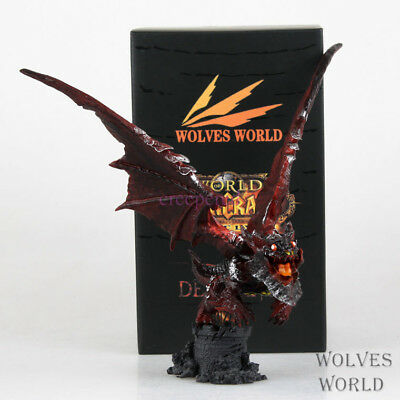 World of Warcraft Deathwing Dragon Neltharion 20cm Action Figure Doll Toy NEW