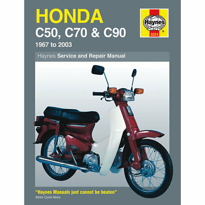 Honda C50 C70 C90 1967-2003 Haynes Workshop Manual