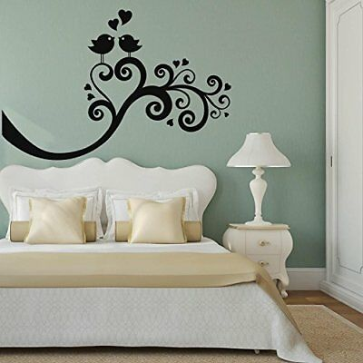 Adesiviamo 1042-Romantic Birds-Vinilo decorativo para pared Vinyl Wall Stickers