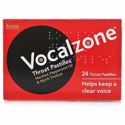 Vocal zone Pastilles 24's - Multiple Packs, Special Prices