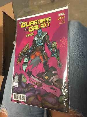 All New Guardians of the Galaxy Annual #1 Variant Cover Marvel Comic Book