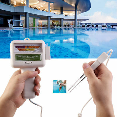 Water Quality PH & Cl2 Chlorine Level Tester Swimming Pool Spa Monitor Tool