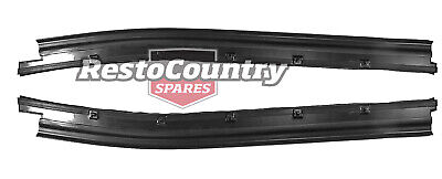 Ford Door Weather Belt Pair LEFT + RIGHT Front OUTER XA XB XC Coupe Ute Van 2 Dr