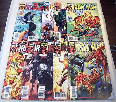 Iron Man #14 15 16 17 18 19 20 21 22 23 (Vol. 3) Thor Fantastic Four War Machine