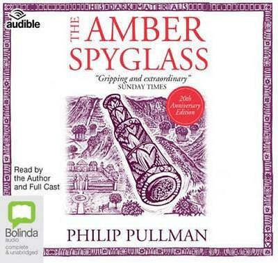 NEW The Amber Spyglass By Philip Pullman Audio CD Free Shipping