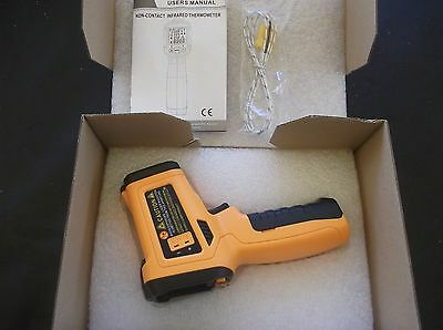 TEMPERATURE ,HUMIDITY AND DEW POINT IR INFRARED THERMOMETER -30 to 500 deg C