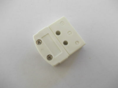 Rtd Connector 3 Pin Socket  , Flat Type
