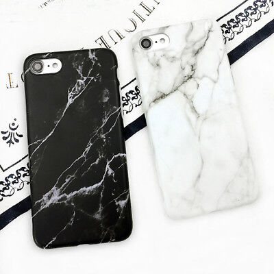 Granite Stone Marble Texture Pattern Soft Phone Case For iphone 6 6s 7 8 Plus