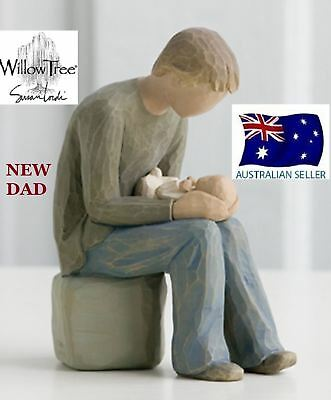 NEW DAD Demdaco Willow Tree Figurine By Susan Lordi BRAND NEW IN BOX
