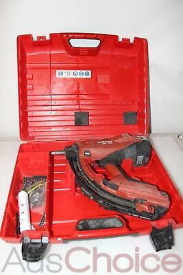 Hilti GX 120 Nail Gas-Actuated Fastening Tool w Case - Great Condition
