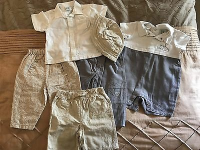 Size 0 boys summer clothes bundle
