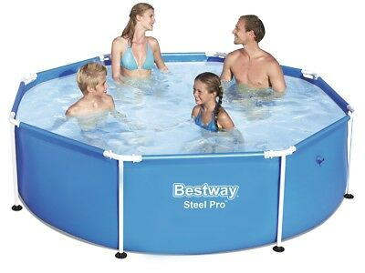 Bestway Swimming Pool 56431 Swimmbad 244x61cm Frame Planschbecken #3572