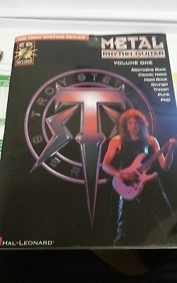 Troy Stetina series. ' Metal Rhythm Guitar ' volume 1 with cd.