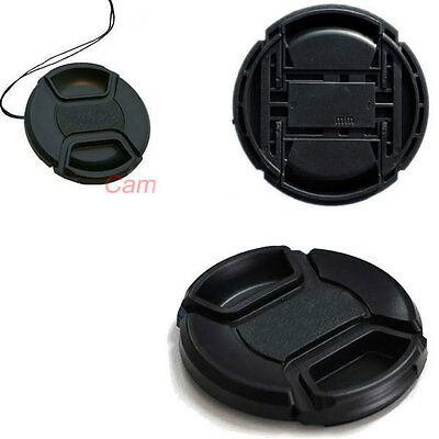 62mm Center Pinch Front Lens Cap Cover For NIKON Lens Filter Camera DSLR SLR
