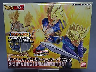 Figure-rise Standard Dragon Ball Z Super Saiyan Trunks & Vegeta DX Set Bandai **