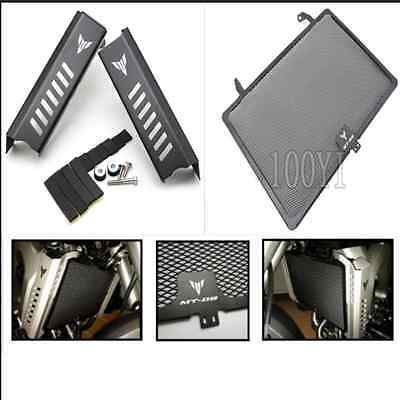 Motorcycle Radiator Side Cover Set+Protector For Yamaha FZ-09 MT-09 2013-2015