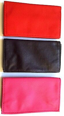TOBACCO POUCH WRAP AROUND PU SOFT LEATHER with Paper Holder and Magnetic Close