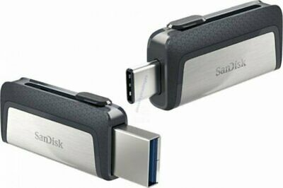SANDISK ULTRA DUAL TYPE-C USB 150MB/sec 64GB USB FLASH DRIVE NEW A