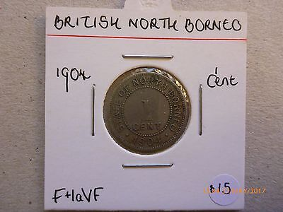 British North Borneo, 1 cent 1904 (KM#3)