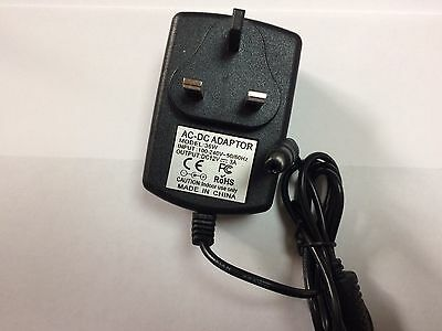 UK Mains wall Charger 240v AC DC 12v 3A 12v jumpstarter powerpack jumpstart