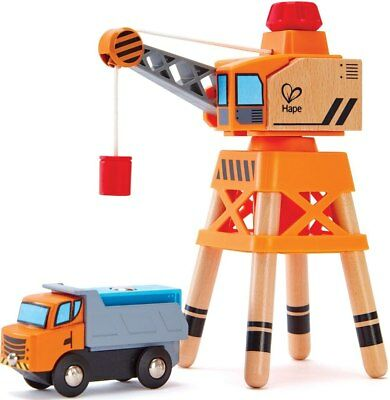 New Hape Large Boom Crane Childrens Toy