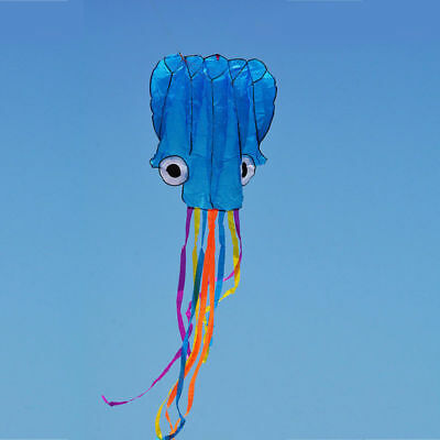 3D 4M Single Line Octopus Shape Flower Kite Outdoor Toy Flying for Kids Sport