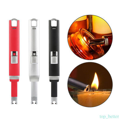 USB Plasma Single Arc cigar Lighter Flameless Rechargeable Windproof Lovers Gift