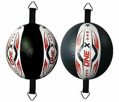 New Leather Double End Dodge Speed Ball MMA Boxing Floor to Ceiling Punch Bag r