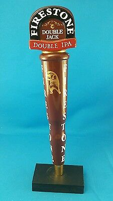 Firestone Double Jack IPA Beer Tap Handle Pub Draft Keg Knob