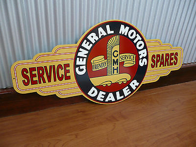 Holden Sign General Motors dealer Metal Tin bar garage GMH Suit EH FJ owner