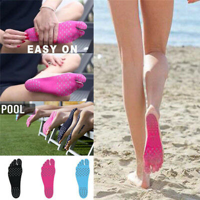 2017 Sticker Shoes Stick on Soles Sticky Pads for Feet Beach Foot Protection Mat