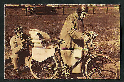 1990 Nostalgia Card: March 1931: First Rocket Driven Bicycle Explodes