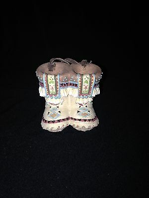 Friends Of The Feather-Enesco-Father Moccasins Ornament 1999-RARE