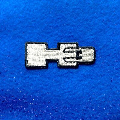 HUMMER H3 Iron On Embroidery Patch. 2.5 X 1 Inch Auto car Truck H2 H1 Hum eye
