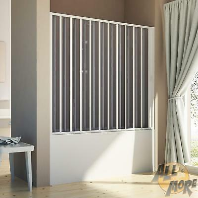 Bath Screen Shower Door Folding For Niche From 1400 To 1700 Mm Pvc Panel H1500