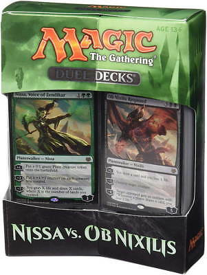 MAGIC The Gathering Duel Decks NISSA vs OB NIXILIS Englische Version NEU Deck