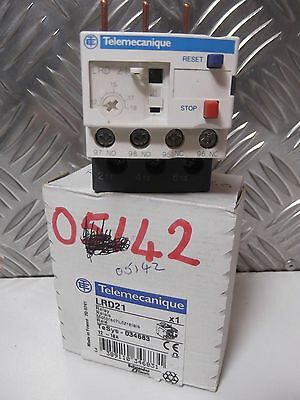 Schneider Telemecanique LRD21 thermal overload relay  12A-18A LRD-2 TeSys 034683
