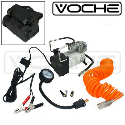 Voche® Heavy Duty Portable 12V Electric Car Tyre Inflator 150Psi Air Compressor