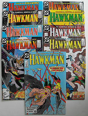 Hawkman-1986-Complete Second Series-Unread High Grade Copies