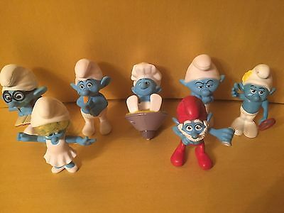 7 Smurfs - Movie - McDonald's 2011 2013 - Smurfette (Lot 15) FREE POSTAGE