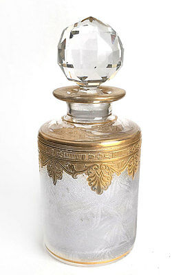 St Louis Crystal Perfume Bottle