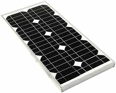 SOLAR TECHNOLOGIES STP018MA Solar Panel Including Cable Contrller, 18 Wp
